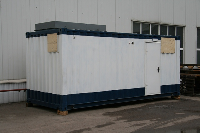 Transportable container PSA oxygen units TAdK